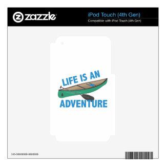 Una aventura iPod touch 4G skin