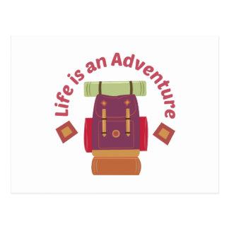Una aventura postales