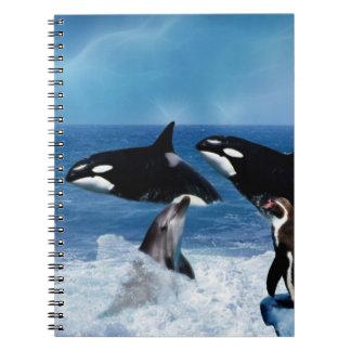 Una ballena de un mundo notebook