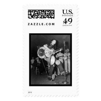 Una banda Asheville, NC 1938 del hombre Sellos