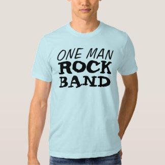 Una banda de rock del hombre camisas