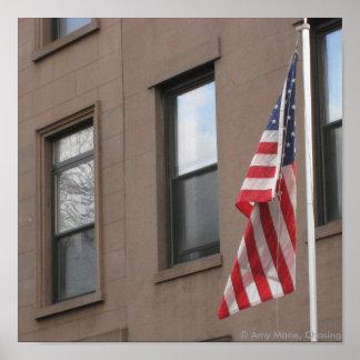 Una bandera posters