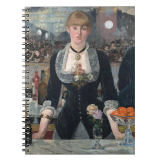 Una barra en el Folies-Bergère de Édouard Manet Libros De Apuntes