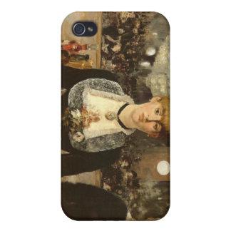 Una barra en el Folies-Bergere iPhone 4 Fundas