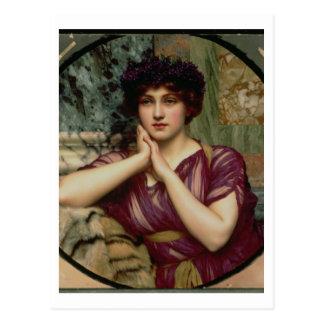 Una Beauty clásica, 1901 (aceite en lona) Tarjeta Postal