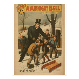 """Una Bell de medianoche, """"Gimme teatro retro de mi  Tarjetas Postales"""