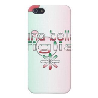 Una Bella Figlia Italy Flag Colors Pop Art iPhone 5 Case
