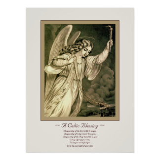 Una bendición céltica póster