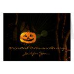 Una bendición escocesa de Halloween - Felicitacion