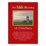 Una bendición irlandesa en la tarjeta de la foto d