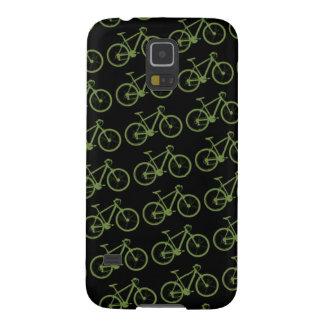 una bicicleta verde fundas de galaxy s5