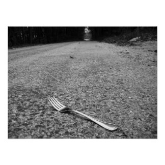 Una bifurcación en el camino poster
