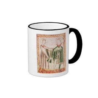 Una boda tazas de café