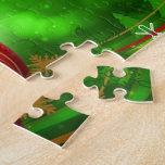 Una bola del navidad puzzle con fotos