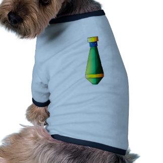 Una bomba alargada camiseta con mangas para perro