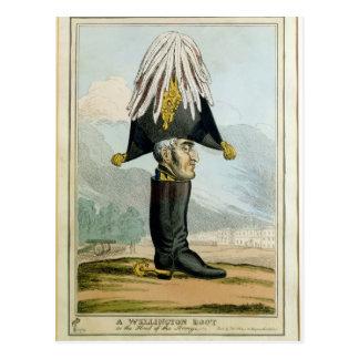 Una bota de Wellington - o el jefe del Armye, Postales
