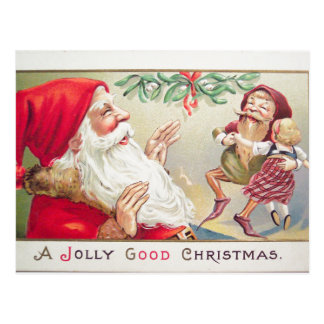 Una buena postal alegre del navidad