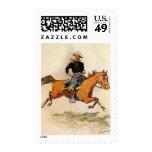 Una caballería manda por Remington, militar del Sellos