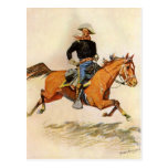 Una caballería manda por Remington, militar del Tarjeta Postal