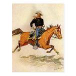 Una caballería manda por Remington, militar del vi Tarjeta Postal