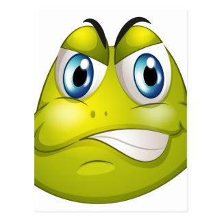 Una cabeza de una tortuga postales