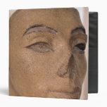 "Una cabeza real, posiblemente de Nefertiti, de Carpeta 1 1/2"""