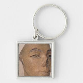 Una cabeza real, posiblemente de Nefertiti, de Llavero