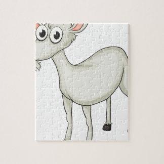 Una cabra rompecabeza