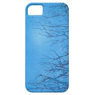 Una caja azul vibrante única del iphone 5 iPhone 5 cárcasas