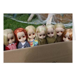 Una caja de pequeña Srta. No Names Tarjeta De Felicitación