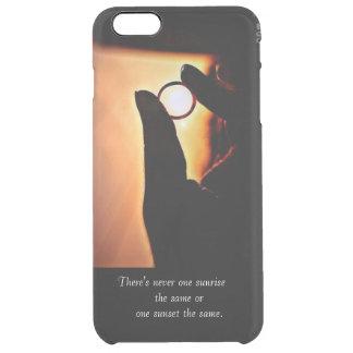 una caja del teléfono para los amantes abstractos funda clear para iPhone 6 plus