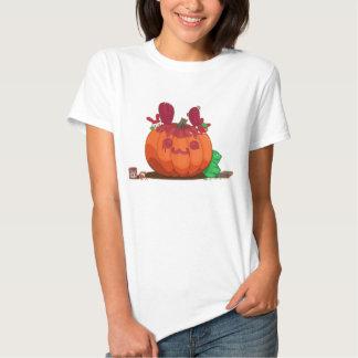 Una calabaza del conejito de Apple Polera