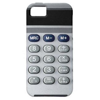 Una calculadora de plata iPhone 5 funda
