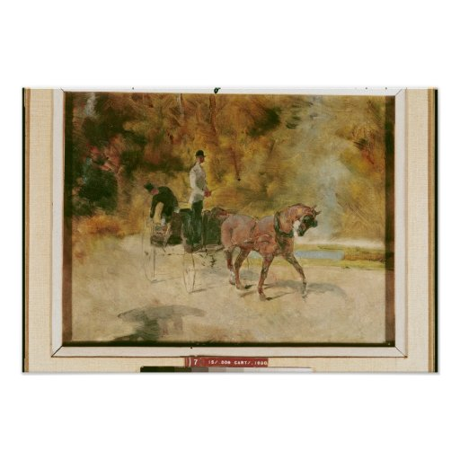 Una calesa, 1880 impresiones