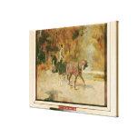 Una calesa, 1880 impresiones de lienzo