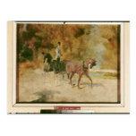 Una calesa, 1880 postal
