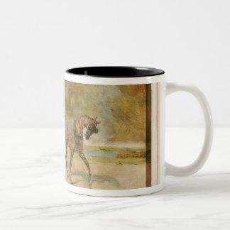 Una calesa, 1880 tazas de café