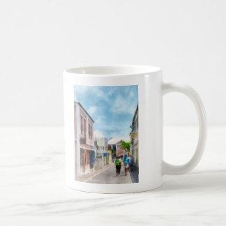 Una calle en Bermudas de San Jorge Taza