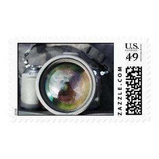 Una cámara vieja sello