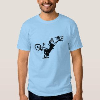 Una camisa de Bmx del Flatland