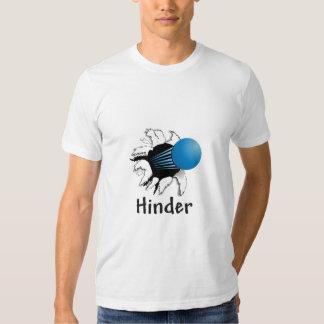 Una camisa más trasera del Racquetball