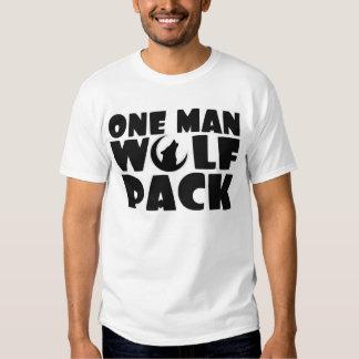 Una camisa para hombre de la manada de lobos del