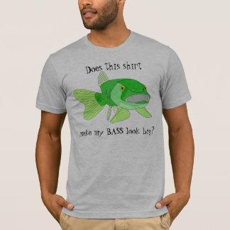 Una camiseta baja grande