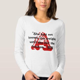 Una camiseta del DISEÑO de la MARCA ROJA de las Poleras