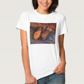 """Una camiseta del par de zapatos de Van Gogh """" Playera"""