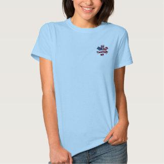 Una camiseta femenina del rezo de EMT Polera