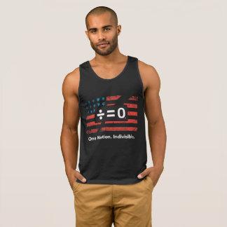 Una camisetas sin mangas del algodón de los