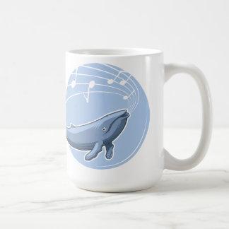 Una canción de la ballena taza de café