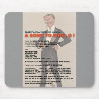 ¡Una canción para cantar O! Alfombrilla De Ratones