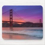 Una captura de puente Golden Gate de San Francisco Alfombrilla De Ratón